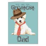 Bichon Dad Card