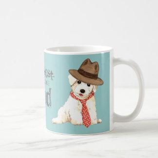 Bichon Dad Classic White Coffee Mug