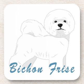 Bichon Frise 1 Drink Coaster