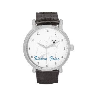 Bichon Frise 1 Reloj