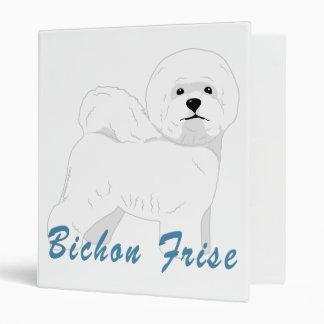 Bichon Frise 1 Vinyl Binder