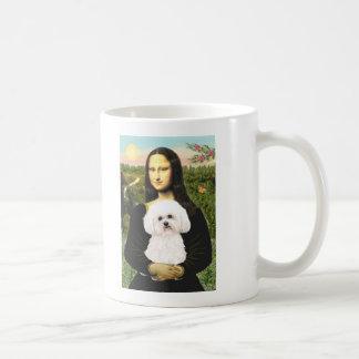 Bichon Frise 2R - Mona Lisa Coffee Mugs