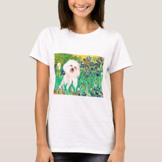 Bichon Frise 4  - Irises T-Shirt