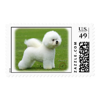 Bichon Frise 9F85D-16 Postage Stamps