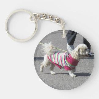 Bichon Frise Acrylic Keychain