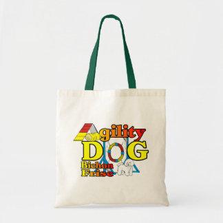 Bichon Frise Agility Gifts Tote Bag
