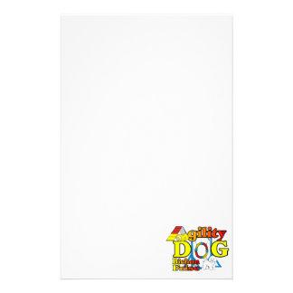 Bichon Frise Agility Stationery Paper