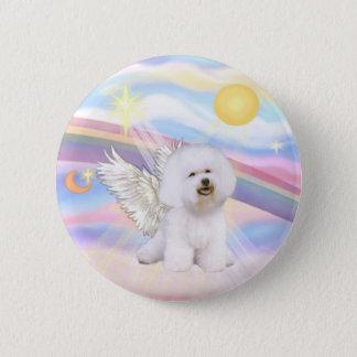 Bichon Frise Angel Button