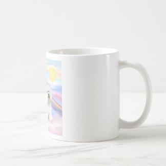 Bichon Frise Angel Coffee Mug