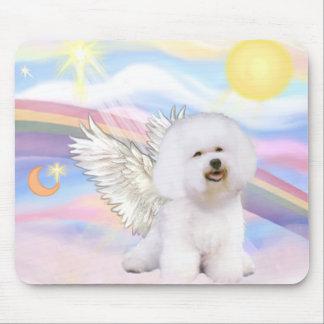 Bichon Frise Angel Mouse Pad