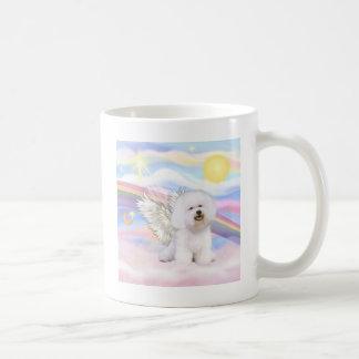 Bichon Frise Angel Classic White Coffee Mug