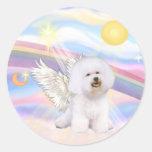 Bichon Frise Angel Stickers