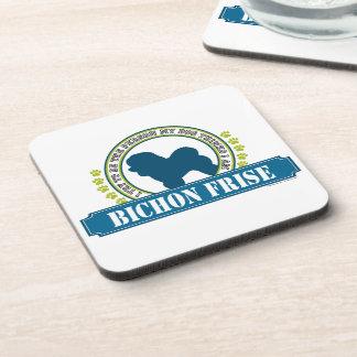 Bichon Frise Beverage Coaster
