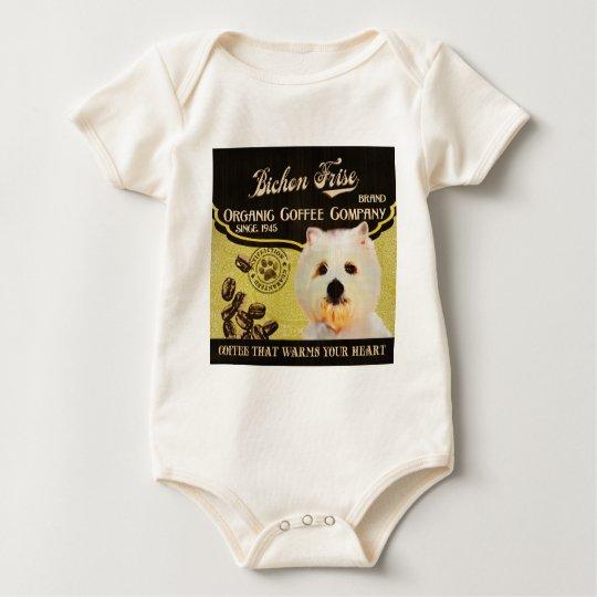 Bichon Frise Brand – Organic Coffee Company Baby Bodysuit