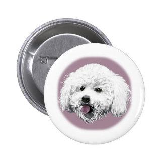 Bichon Frise Pinback Button