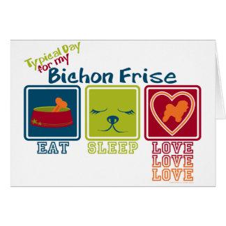 Bichon Frise Card