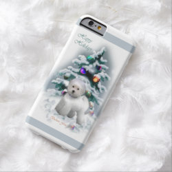 Case-Mate Barely There iPhone 6 Case with Bichon Frise Phone Cases design