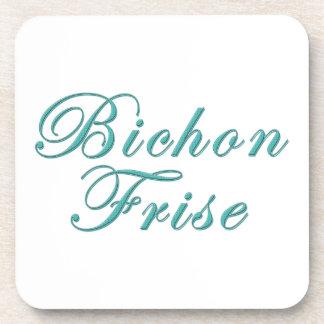 Bichon Frise Beverage Coasters