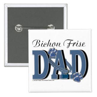 Bichon Frise DAD Buttons