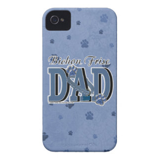 Bichon Frise DAD iPhone 4 Covers