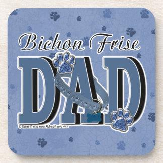 Bichon Frise DAD Coaster