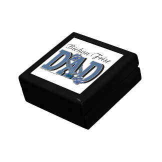 Bichon Frise DAD Jewelry Boxes
