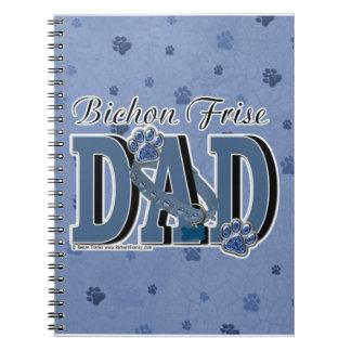 Bichon Frise DAD Note Book