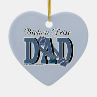 Bichon Frise DAD Ornament