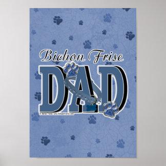 Bichon Frise DAD Posters