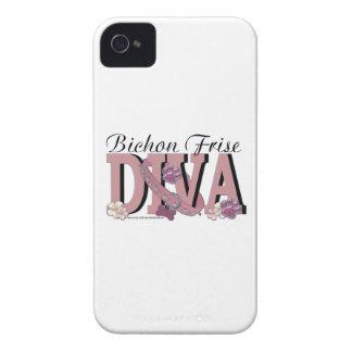 Bichon Frise DIVA iPhone 4 Cases