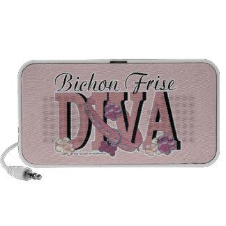 Bichon Frise DIVA iPhone Speaker