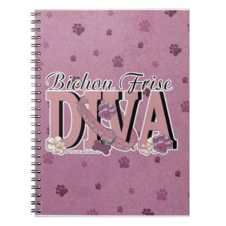 Bichon Frise DIVA Notebook