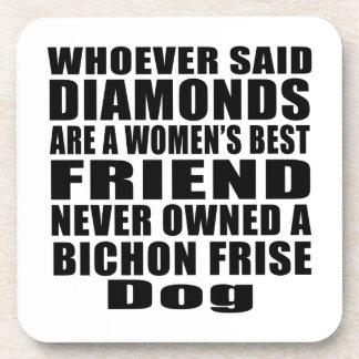BICHON FRISE DOG BEST FRIEND DESIGNS COASTER
