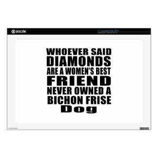 BICHON FRISE DOG BEST FRIEND DESIGNS DECAL FOR LAPTOP