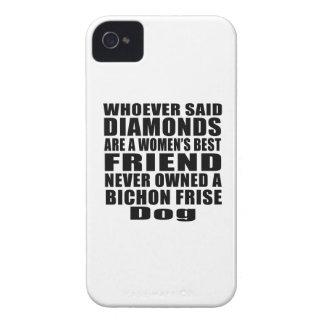 BICHON FRISE DOG BEST FRIEND DESIGNS iPhone 4 COVERS