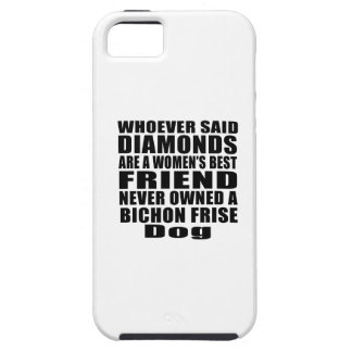 BICHON FRISE DOG BEST FRIEND DESIGNS iPhone SE/5/5s CASE