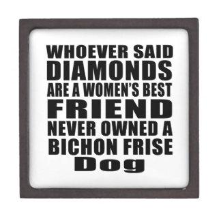 BICHON FRISE DOG BEST FRIEND DESIGNS KEEPSAKE BOX