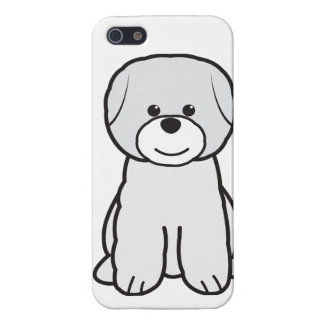 Bichon Frise Dog Cartoon Cases For iPhone 5