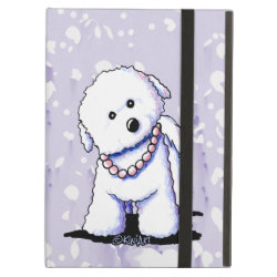iPad Air Powis Case with Bichon Frise Phone Cases design