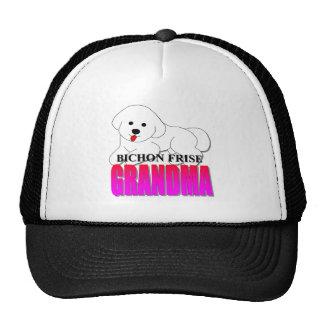Bichon Frise Dog Grandma Trucker Hat