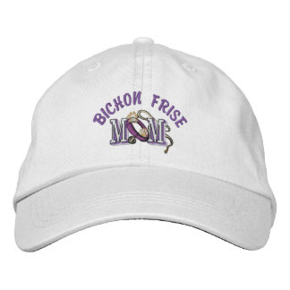 Bichon Frise Dog Mom Baseball Cap