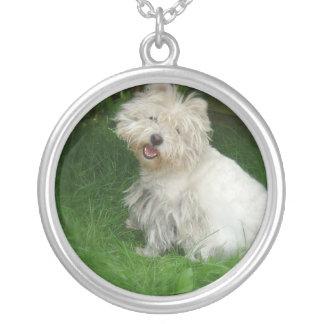 Bichon Frise Dog Necklace