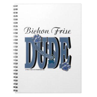 Bichon Frise DUDE Note Book