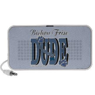 Bichon Frise DUDE Travelling Speaker
