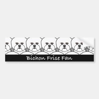Bichon Frise Fan Bumper Sticker