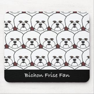 Bichon Frise Fan Mouse Pad