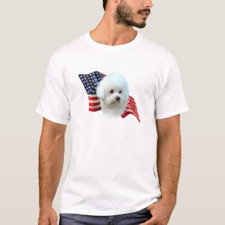 Bichon Frise Flag T-Shirt