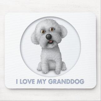 Bichon Frise Granddog Mouse Pad