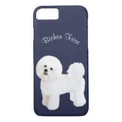 Case-Mate Barely There iPhone 7 Case with Bichon Frise Phone Cases design