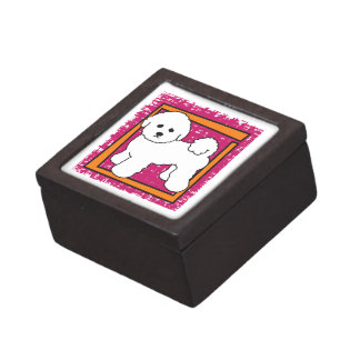 BICHON FRISE KEEPSAKE BOX